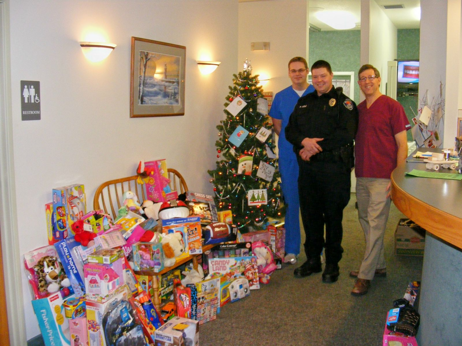 Annual Toys for Kids Drive South Haven MI Cosmetic Dentist